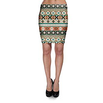 tribal print skirt 2018