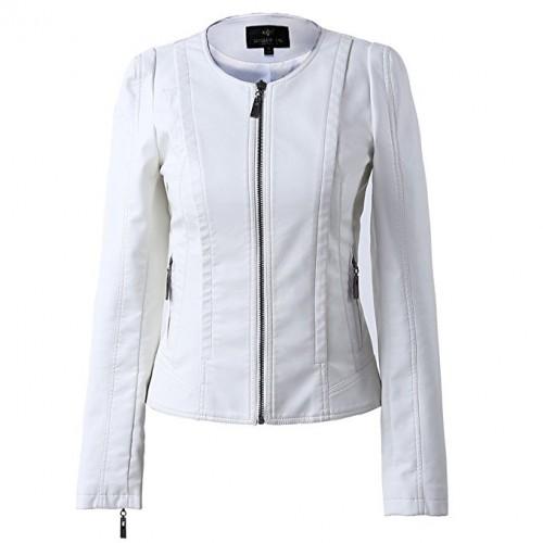 white leather jacket 2020