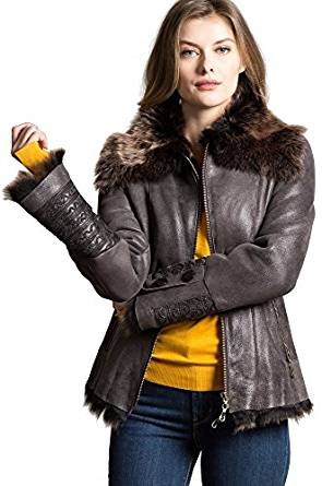 ladies leather jackets 2018