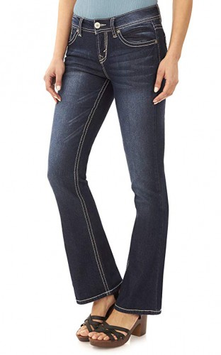 fashionable bootcut jeans 2020
