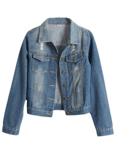 2015 ladies denim jacket