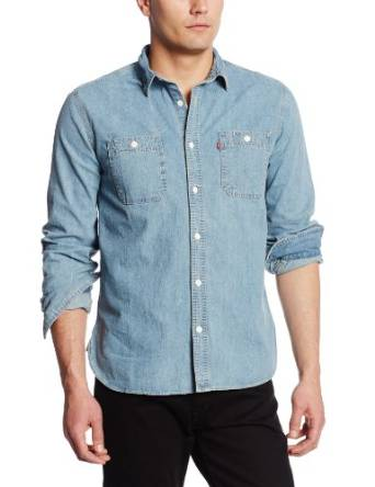 mens denim shirt 2015