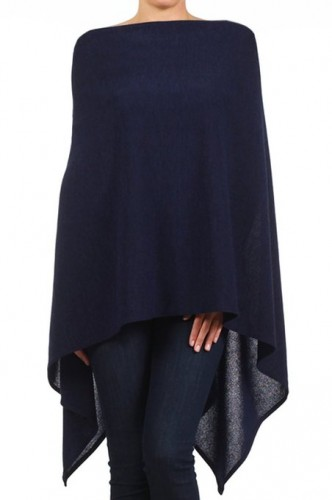 poncho for chubby woman 2015