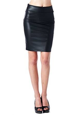 2015-2016 womens leather skirt