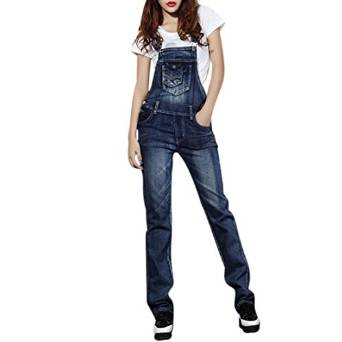 Women's Denim Jumpsuits 2015-2016