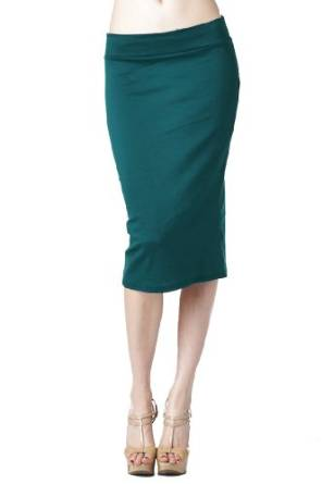 2015 below the knee pencil skirt