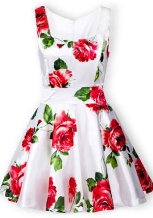 floral dress 2015-2016