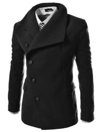 latest pea coat for men 2015-2016