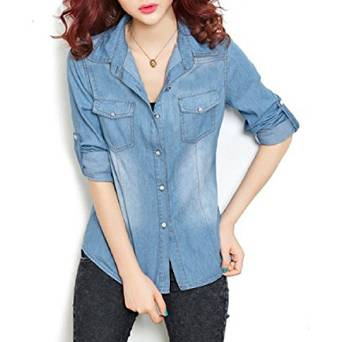 2015-2016 denim shirts for women
