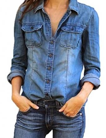 best denim shirt for women 2015