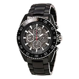 Michael Kors Jet Master Automatic Multi-Function Skeleton Men's Watch