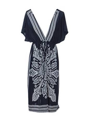 kimono inspired dress