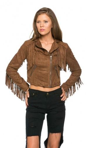 jacket fringes