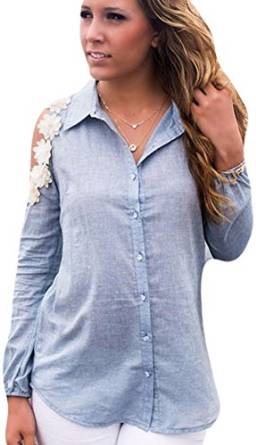womens chambray shirt