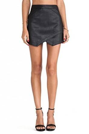 amazing leather skirt