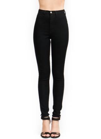 skinny high waist pant