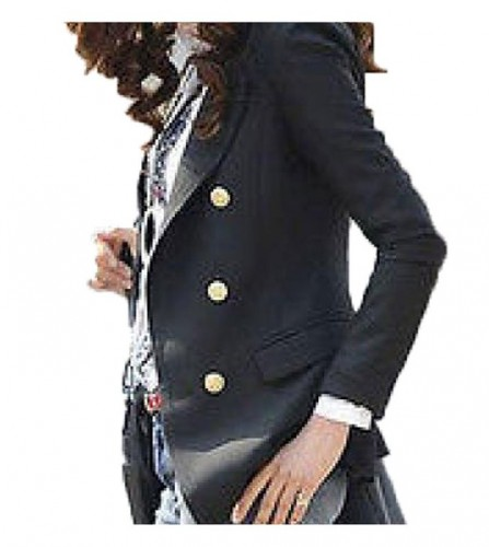 2016 double breasted blazer for ladies