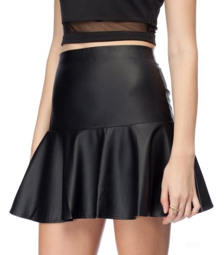 2016 leather skirt