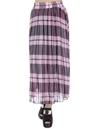 long plaid skirt 2016