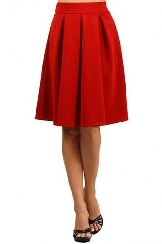 2017 pleated skirt
