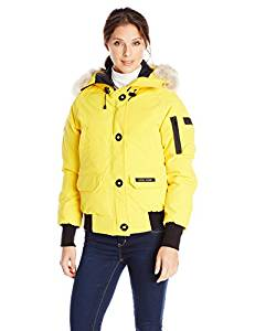 best ladies yellow parka