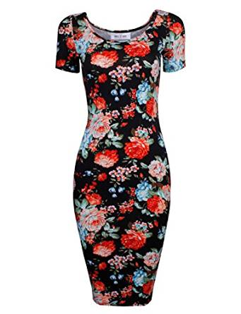best floral printed dress 2017
