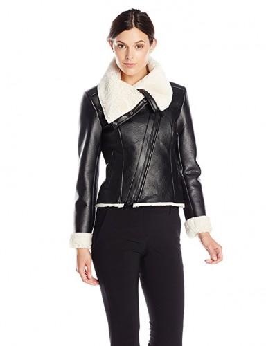 womens shearling jackets 2017