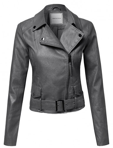 ladies biker jacket 2017