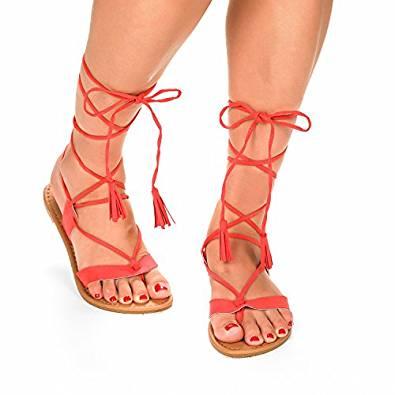 2020 amazing gladiator sandals