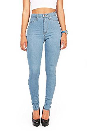 high waist denims 2018
