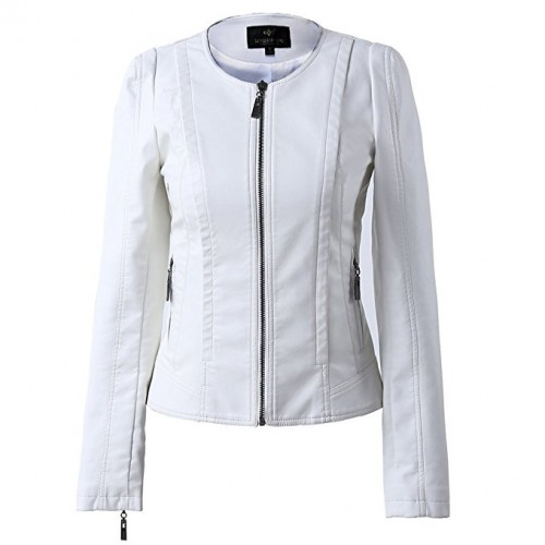 white leather jacket 2020