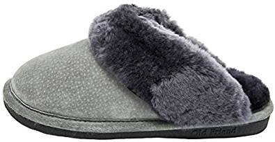 ladies shearling slippers 2020