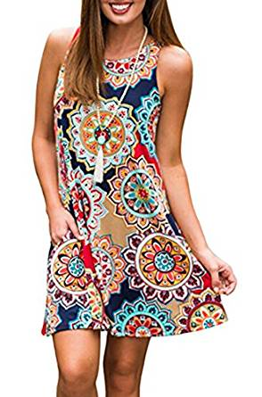 fashionable sun dresses 2020