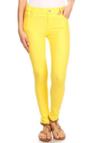 Are colored jeans in style 2021?
