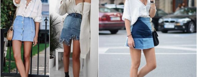 are denim skirts are in style