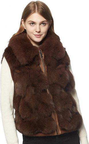 How To Wear Fur Vest